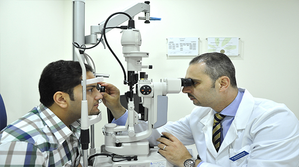 Ophthalmology specialist is required