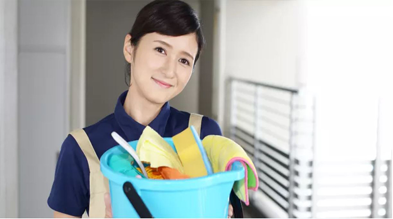 Domestic helper is required