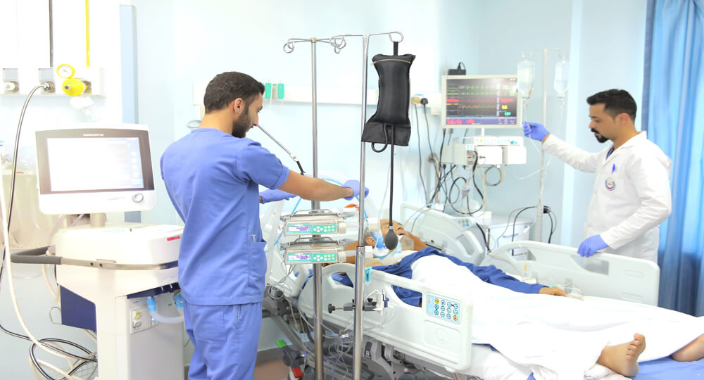 Resident Doctor Intensive Care Is Required